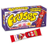 Frubes Strawberry, Red Berry and Peach Flavour Yogurt Tubes 9 x 37g (333g)