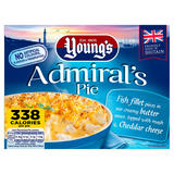 Young's Admirals Pie 320g