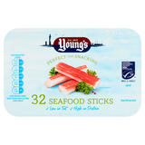 Young's 32 Seafood Sticks 400g