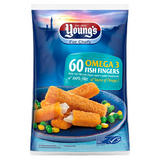 Young's for Chefs 60 Omega 3 Fish Fingers 60 x 25g (1.5kg)