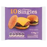 10 Cheesy Singles 170g