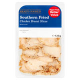 Southern Fried Chicken Breast Slices 125g