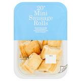 20 Mini Sausage Rolls 200g
