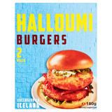 2 Halloumi Burgers 180g