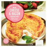 Cheese & Bacon Quiche 400g