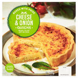 Cheese & Onion Quiche 400g