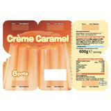 Crème Caramel 6 x 100g (600g)