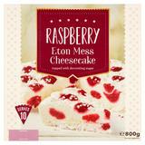 Raspberry Eton Mess Cheesecake 800g