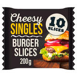 Cheesy Singles Burger 10 Slices 200g