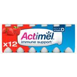 Actimel Strawberry 12 x 100g (1.2 kg)