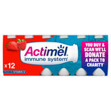 Actimel Strawberry Yogurt Drink 12 x 100g (1.2kg)