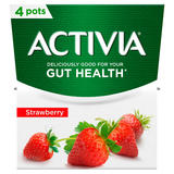 Activia Strawberry Yogurt 4 x 120g (480g)