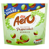 Aero Bubbles Peppermint Mint Chocolate Sharing Pouch 219g
