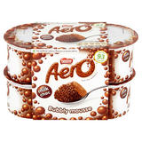 Aero Milk Choc Bubbly Mousse 4 x 59g (236g)