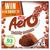 Aero Milk Chocolate Mousse 4x59g