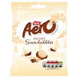 Aero Snowbubbles Milk Chocolate Sharing Pouch 80g