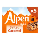 Alpen 5 Light Salted Caramel Bars 95g