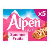 Alpen 5 Light Summer Fruits Bars 95g
