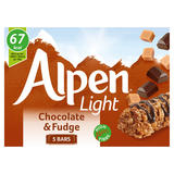 Alpen Light Bars Chocolate & Fudge Multipack 5 x 19g