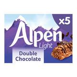 Alpen Light Bars Double Chocolate Multipack 5 x 19g