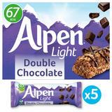 Alpen Light Bars Double Chocolate Multipack 5x19g