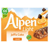 Alpen Light Cereal Bars Jaffa Cake 5 x 19g