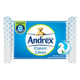 Andrex Classic Clean Washlets Single Pack (40 Sheets)