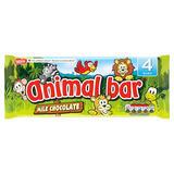 Animal Bar Milk Chocolate Bar Multipack 19g 4 Pack