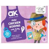 Annabel Karmel Mild Chicken Korma with Fluffy Rice 1+ Years 200g