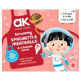 Annabel Karmel Scrummy Spaghetti Meatballs in a Tomato Sauce 1+ Years 200g