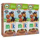 Appy Kids Co Paw Patrol Chocolate Flavoured Milk 3 x 200ml