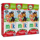 Appy Kids Co Paw Patrol Strawberry Flavoured Milk 3 x 200ml
