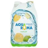 Aquaroma Sparkling Lemon & Lime Flavoured Spring Water 4 x 500ml