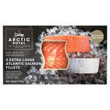 Arctic Royal 2 Extra Large Atlantic Salmon Fillets 310g