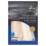 Arctic Royal 4 Frozen at Sea Large Atlantic Cod Loins 700g