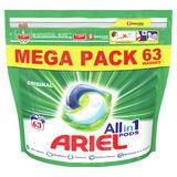 Ariel All-in-1 Pods Washing Liquid Capsules Original, 63 Washes