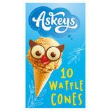 Askeys 10 Waffle Cones