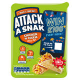 Attack a Snak Chicken 'n Cheese Wrap Kit 99g