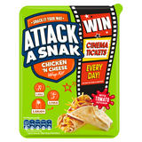 Attack a Snak Chicken 'n Cheese Wrap Kit! with Tomato Ketchup 99g