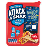 Attack a Snak Ham 'n Cheese Wrap Kit 99g