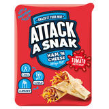 Attack a Snak Ham 'n Cheese Wrap Kit! with Tomato Ketchup 99g