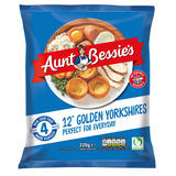 Aunt Bessie's 12 Golden Yorkshires Perfect for Everyday 220g