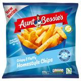 Aunt Bessie's Crispy & Fluffy Homestyle Chips 600g