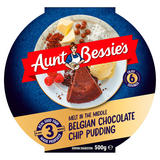 Aunt Bessie's Melt in the Middle Belgian Chocolate Chip Pudding 500g