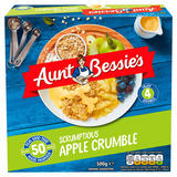 Aunt Bessie's Scrumptious Apple Crumble 500g
