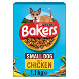 BAKERS Small Dog Chicken with Vegs Dry Dog Food 1.1kg