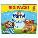 Barny Chocolate Sponge Bear 8 Pack 200g