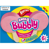 Barratt 6 Anglo Bubbly Ice Lollies 6 x 180g