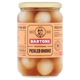 Bartons Traditional Pickled Onions 650g
