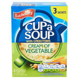 Batchelors Cup a Soup Cream of Vegetable with Croutons 90g